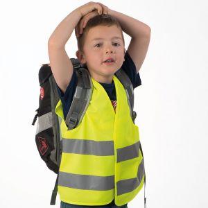 Otroški odsevni brezrokavnik