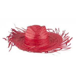 Slamnati klobuček brez traka