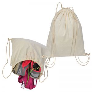 Bombažna vreča - nahrbtnik