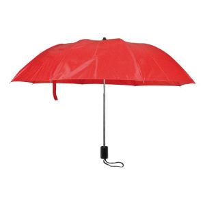 Rdeča dežnik ročno odpiranje