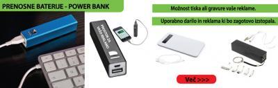 Prenosne baterije - power bank